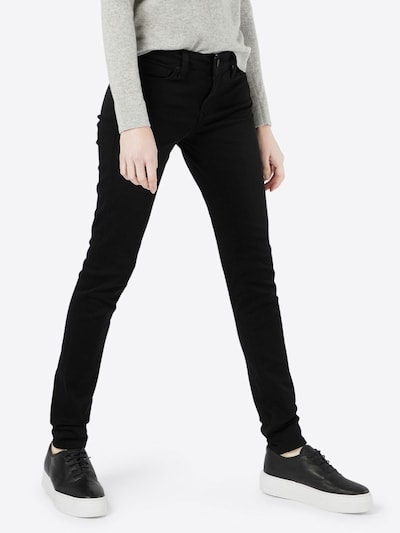 Mavi Jeans 'Adriana' in black denim, Modelansicht