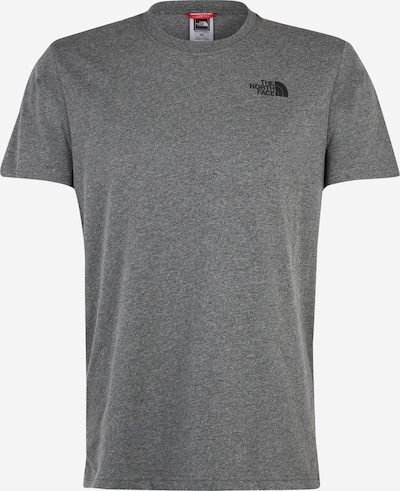 THE NORTH FACE Shirt 'Red Box' in dunkelgrau, Produktansicht