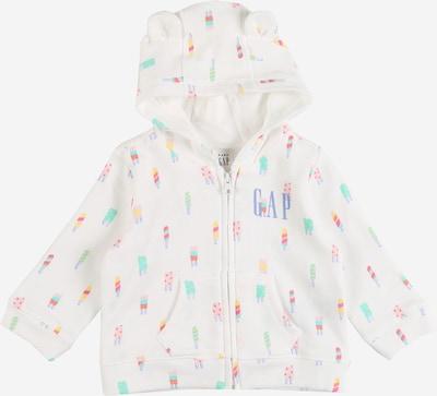 GAP Tepláková bunda - zmiešané farby / biela, Produkt