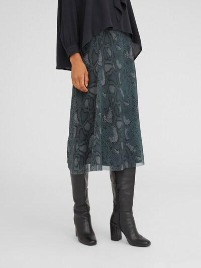 EDITED Spódnica 'Anais' w kolorze zielony / oliwkowy / czarnym, Podgląd na modelu(-ce)