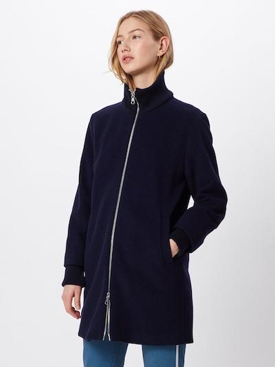 SET Mantel in blau, Modelansicht