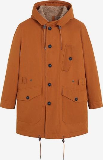 MANGO MAN Parka zimowa 'Cork' w kolorze rdzawobrązowym, Podgląd produktu