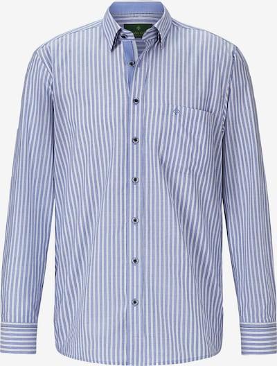 Charles Colby Overhemd 'Hamish' in de kleur Blauw / Wit, Productweergave