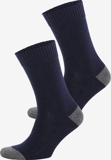 JOOP! Wintersocken in dunkelblau / grau, Produktansicht
