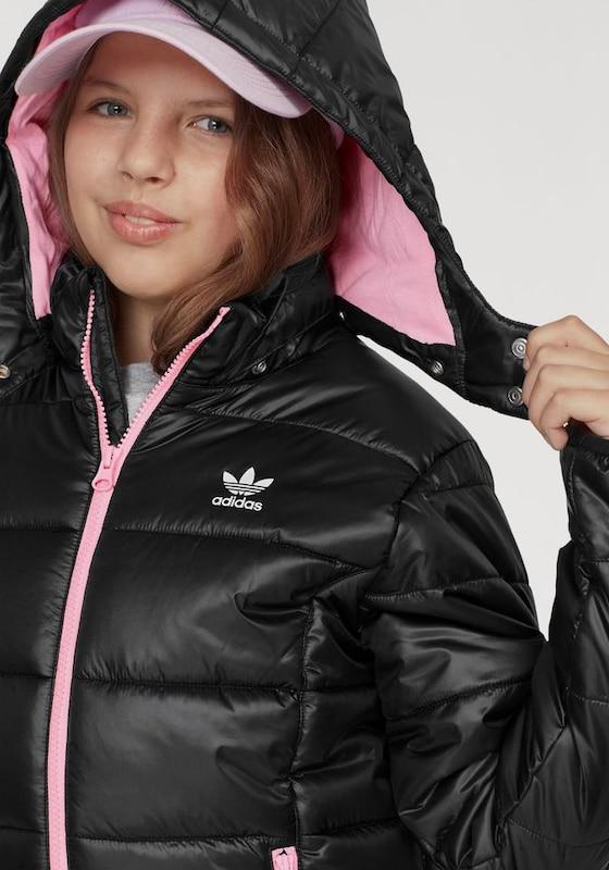 7db35f315 ADIDAS ORIGINALS Zimní bunda - růžová / černá | ABOUT YOU