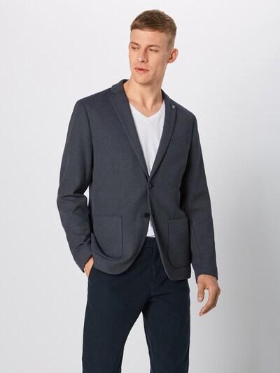 SELECTED HOMME Veste de costume en bleu marine / blanc: Vue de face