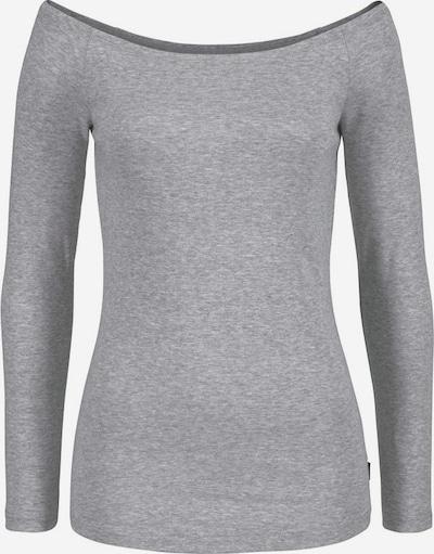 ARIZONA Carmenshirt 'Off-Shoulder' in hellgrau, Produktansicht