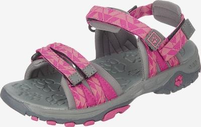 JACK WOLFSKIN Outdoorsandale 'Bahia' in grau / pink / altrosa, Produktansicht