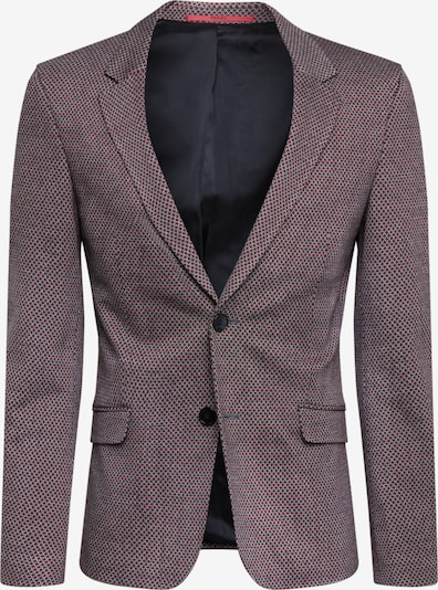 HUGO Veste de costume 'Anfred201J1' en gris / rouge, Vue avec produit