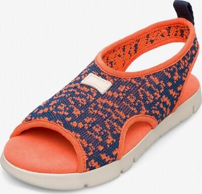 CAMPER Sandale 'Mira' in navy / orange, Produktansicht
