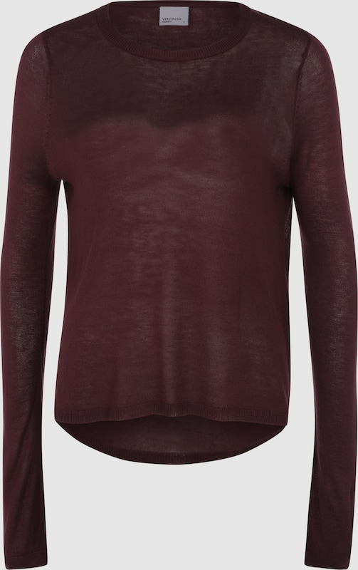 VERO MODA Basicshirt im High-Low-Look