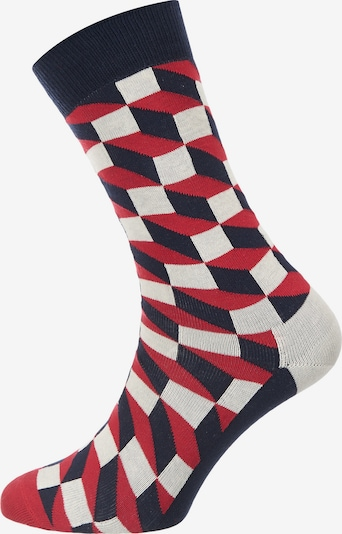 Happy Socks Socken in navy / rot / weiß, Produktansicht