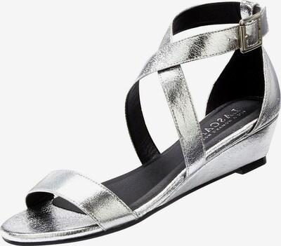 Sandale cu baretă LASCANA pe argintiu, Vizualizare produs