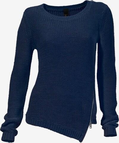 heine Pullover in nachtblau: Frontalansicht