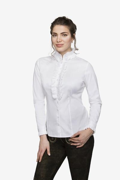 STOCKERPOINT Bluse 'Emilia' in weiß, Modelansicht