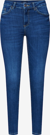 PIECES Jeans 'PCDELLY SKN MW CR MB207- BA/NOOS' in blue denim, Produktansicht