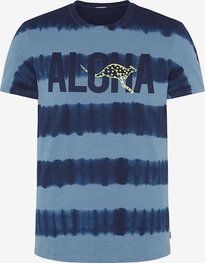 Tricou funcțional CHIEMSEE pe albastru, Vizualizare produs