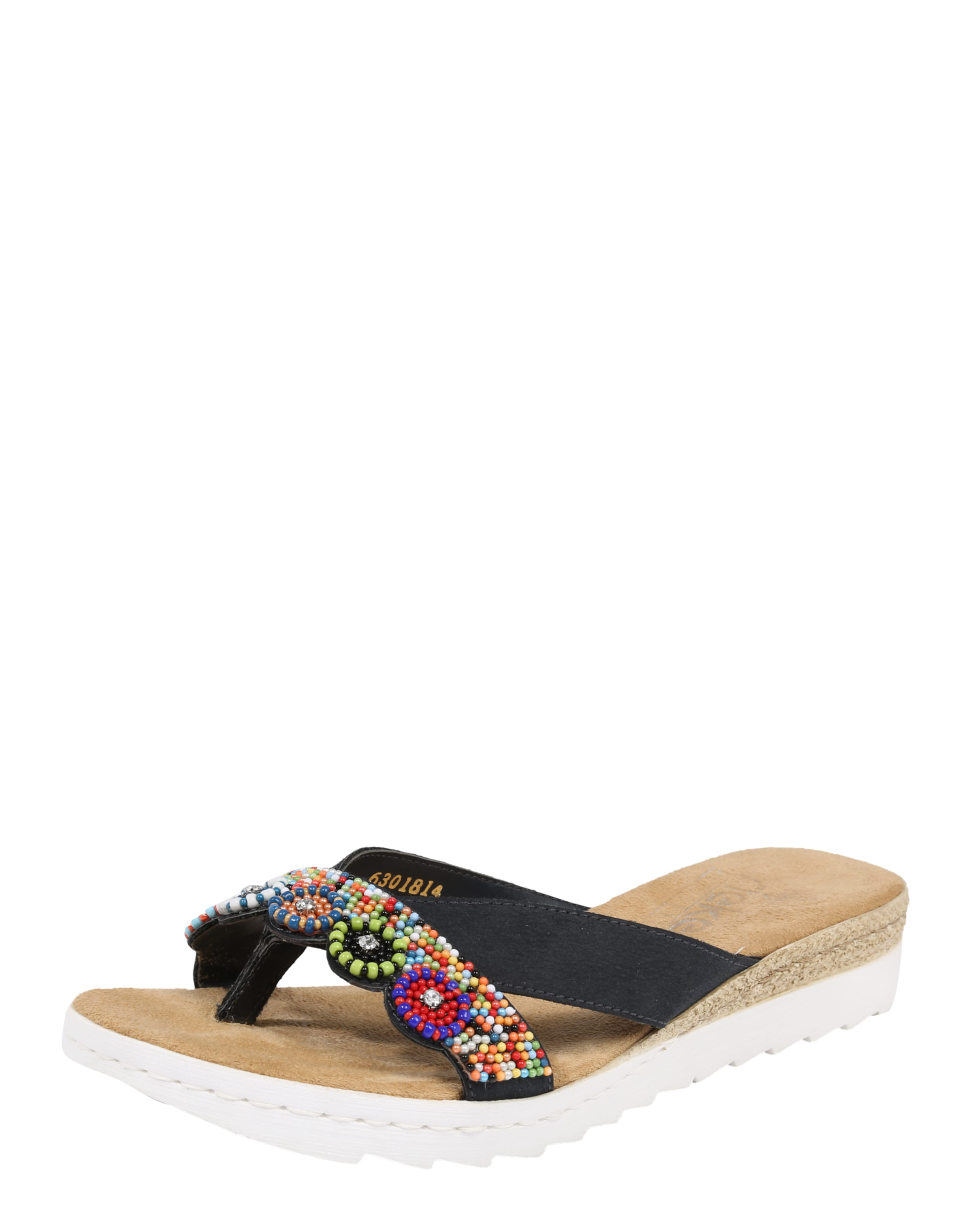 RIEKER Pantolette Verschleißfeste billige Schuhe Hohe Qualität