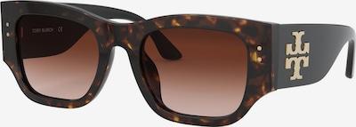 Ochelari de soare Tory Burch pe bej / gri, Vizualizare produs