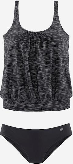 KangaROOS Oversize-Tankini in schwarz, Produktansicht