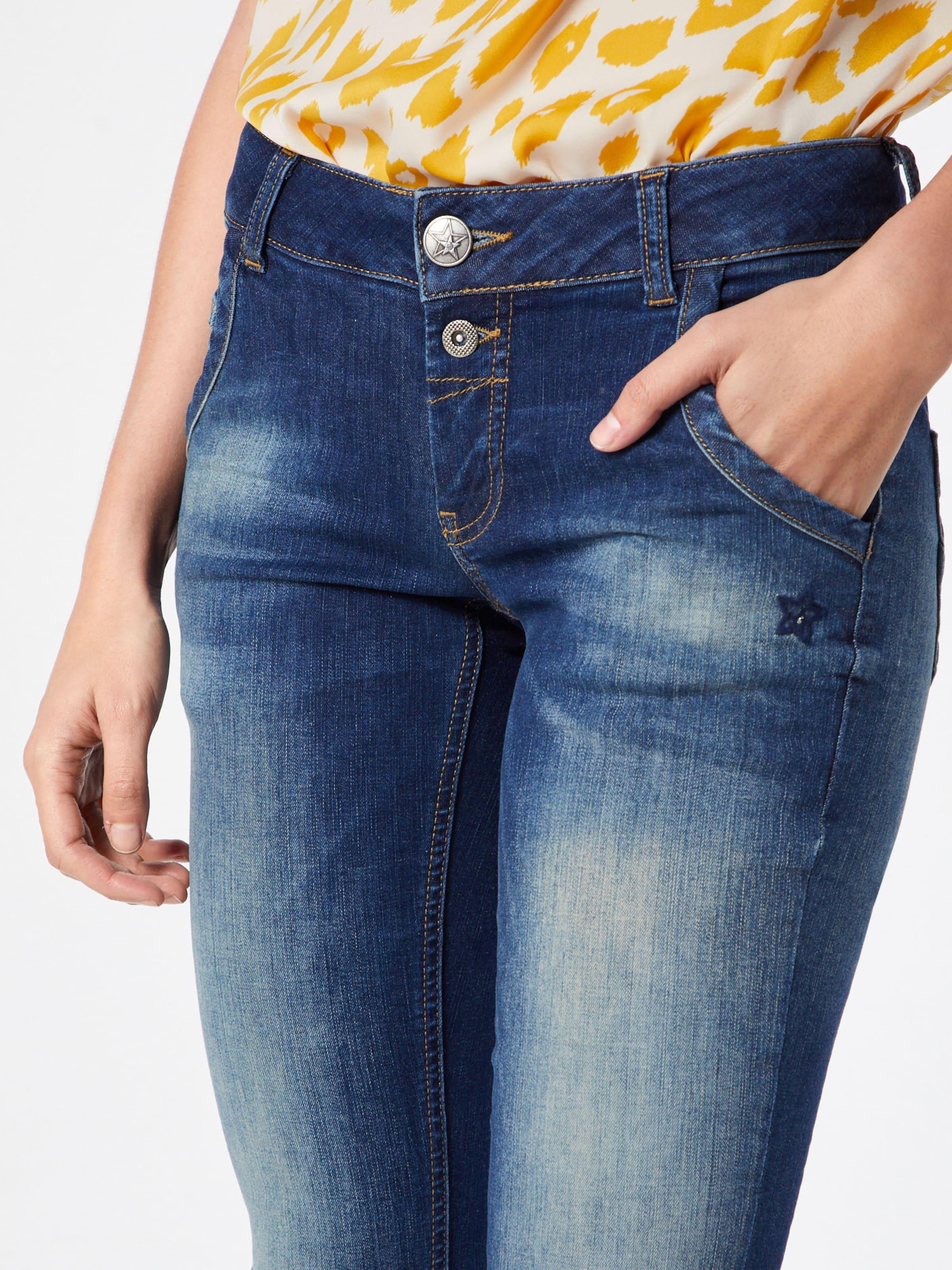Glücksstern Jeans 'Pia' in Blau denim    Markenkleidung für Männer und Frauen c795c7