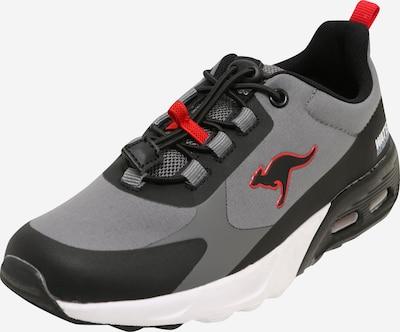 szürke / piros / fekete KangaROOS Sportcipő 'Hydro', Termék nézet