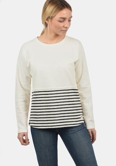 DESIRES Sweatshirt 'Piper' in creme / schwarz, Produktansicht