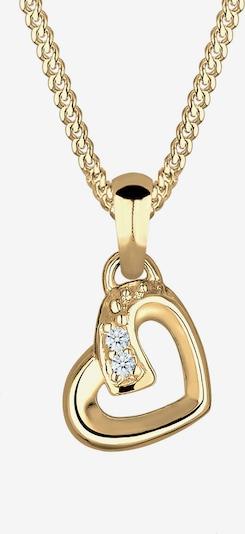 Diamore Halskette 'Herz' in gold, Produktansicht