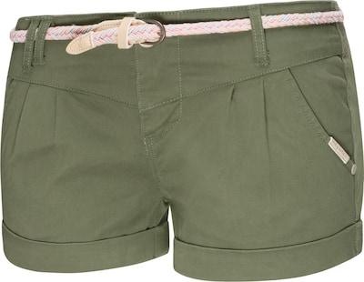 Ragwear Shorts ' Heaven B ' in grün, Produktansicht