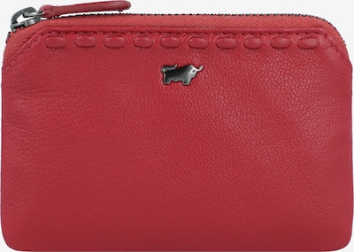 Braun Büffel Etui in rot: Frontalansicht