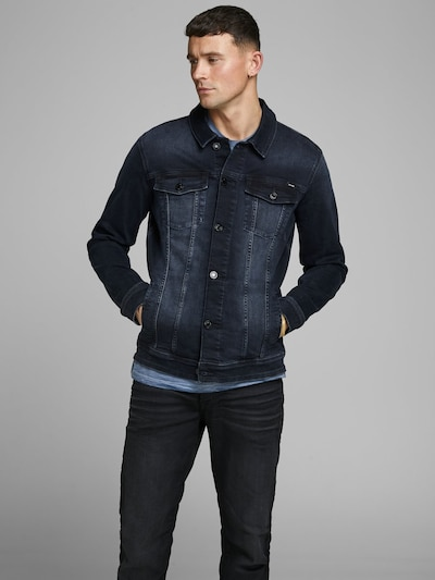 JACK & JONES Jeansjacke 'Alvin AGI 004' in blue denim, Produktansicht