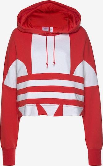 ADIDAS ORIGINALS Majica | rdeča / bela barva, Prikaz izdelka
