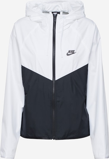 Nike Sportswear Between-season jacket in Black / White, Item view