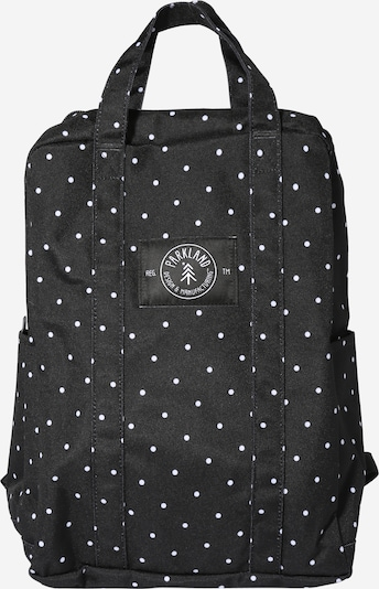 PARKLAND Rucksack 'Remy Polka Dots' in schwarz / weiß, Produktansicht