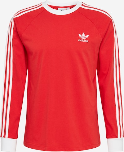 ADIDAS ORIGINALS Shirt '3-Stripes' in hellrot / weiß, Produktansicht