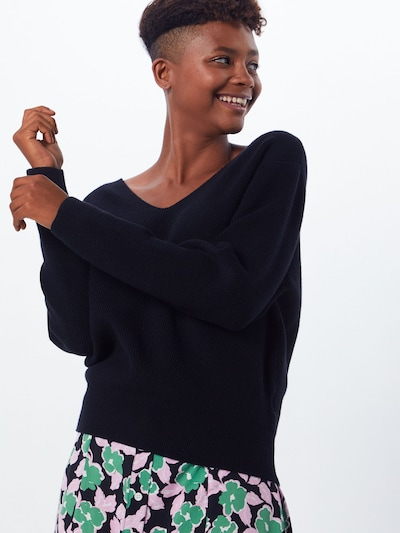 MOSS COPENHAGEN Pullover 'Jilli' in schwarz, Modelansicht