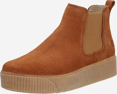 TAMARIS Chelsea Boots in cognac: Frontalansicht