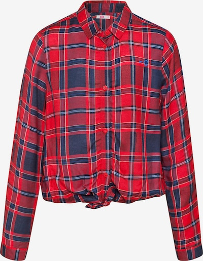 WE Fashion Bluse in navy / rot, Produktansicht