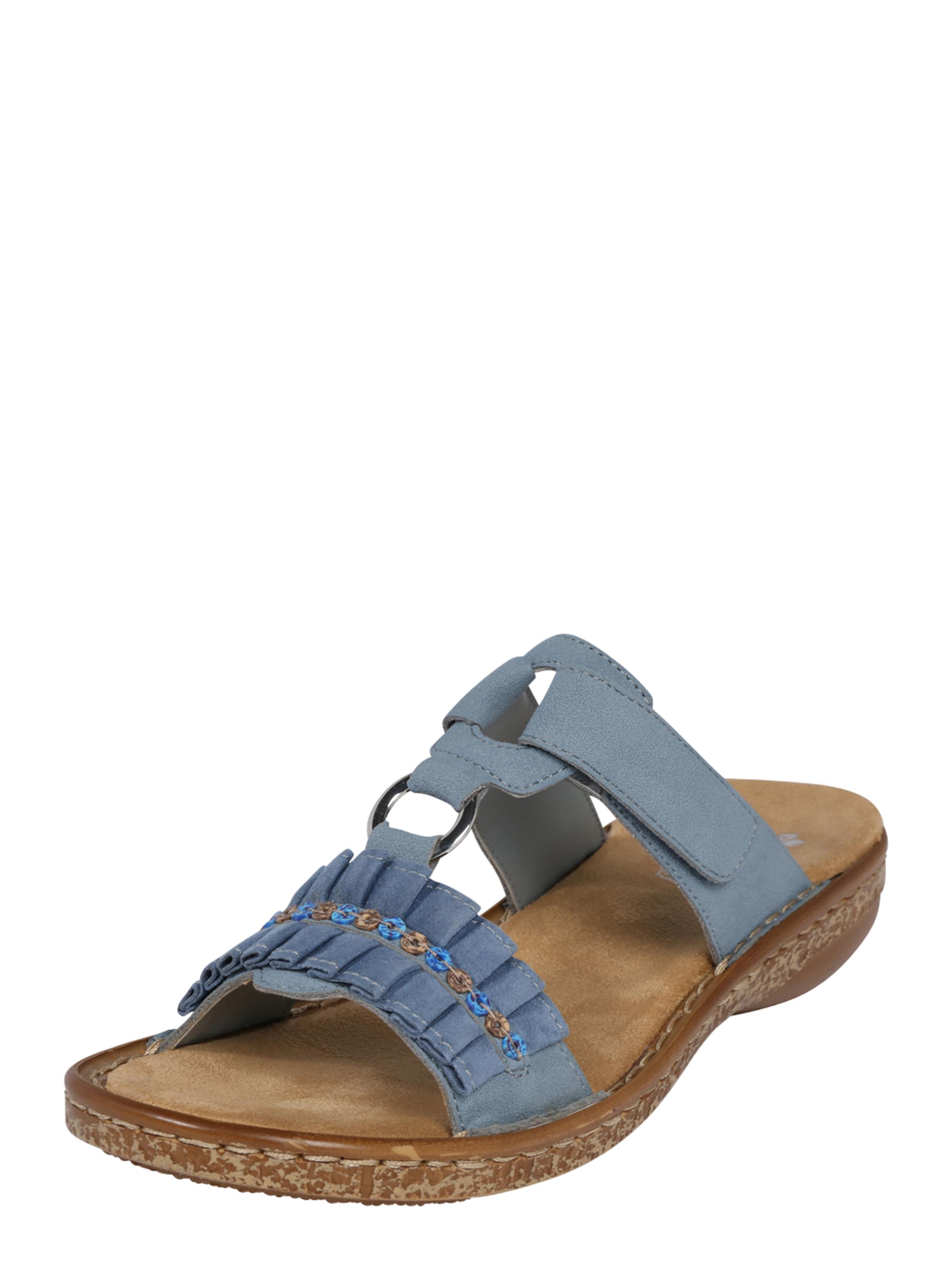 RIEKER Sandaal in Azuur Open toe RIE1129001000001