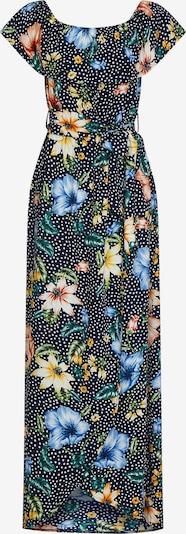Mela London Kleid in nachtblau, Produktansicht