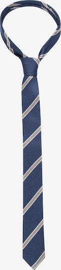 SEIDENSTICKER Krawatte ' Slim ' in dunkelblau / braun, Produktansicht