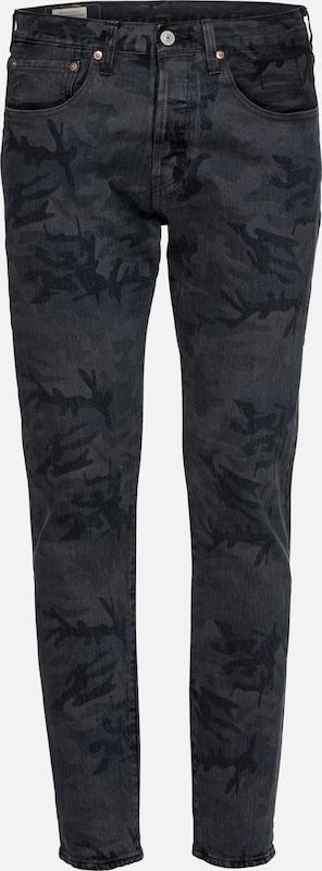 Levi's DenimNoir Bleu Taper' Jean '501® En 80mwOPyvNn