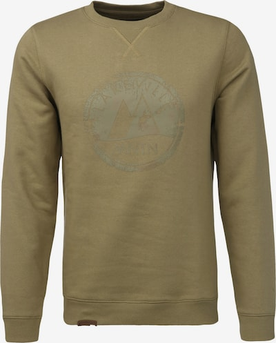 Lakeville Mountain Milo Logo Sweatshirt in khaki, Produktansicht