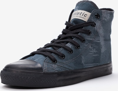 Ethletic Sneaker in rauchblau / dunkelblau / schwarz, Produktansicht