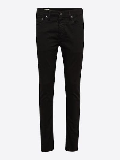 LEVI'S Jeans '512™' in black denim: Frontalansicht