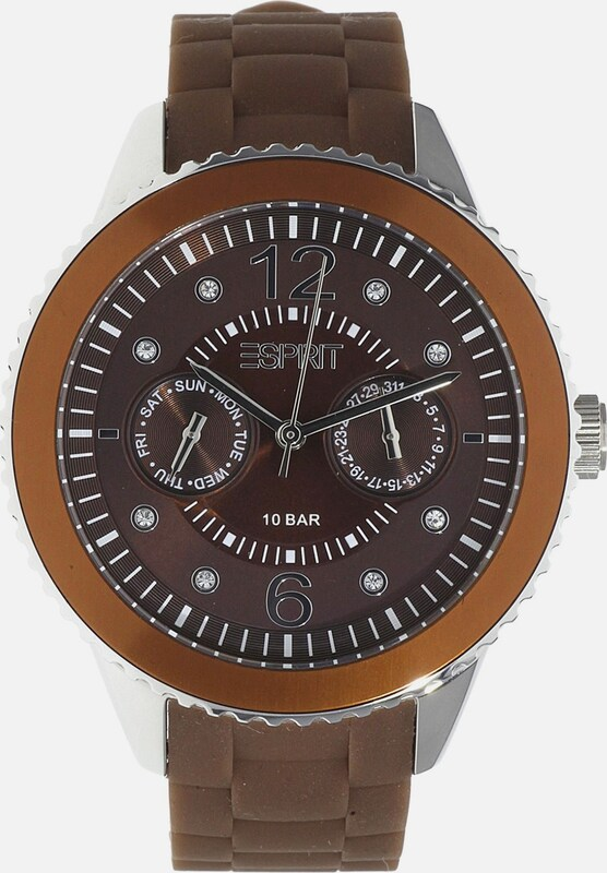 ESPRIT Armbanduhr 'Marin' mit Steinbesatz 'ES105332016'