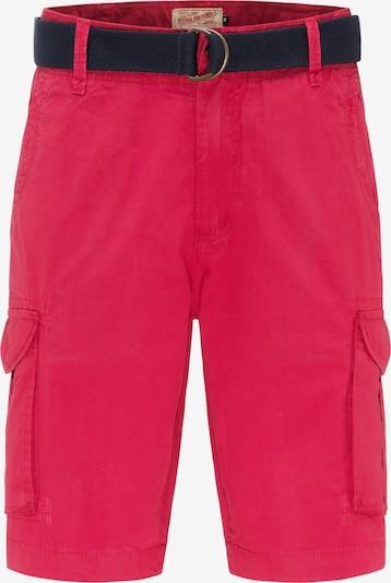 Petrol Industries Shorts in pink / knallrot, Produktansicht