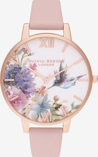 Olivia Burton Uhr in rauchblau / flieder / altrosa / naturweiß, Produktansicht