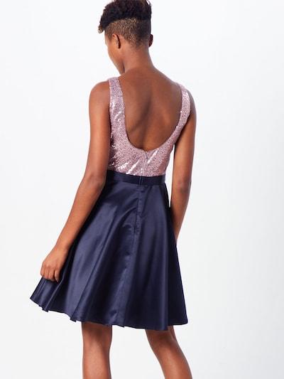 Kokteilinė suknelė iš VM Vera Mont , spalva - tamsiai mėlyna / alyvinė spalva: Vaizdas iš galinės pusės