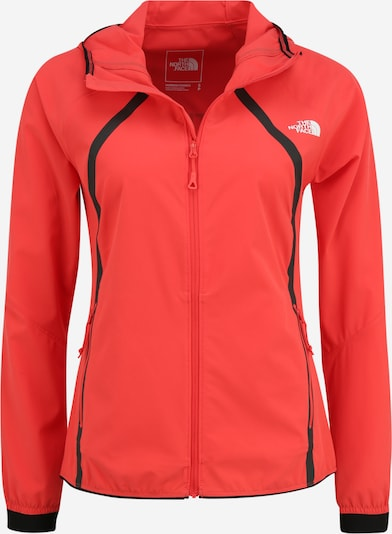 THE NORTH FACE Veste outdoor 'VARUNA' en rouge, Vue avec produit